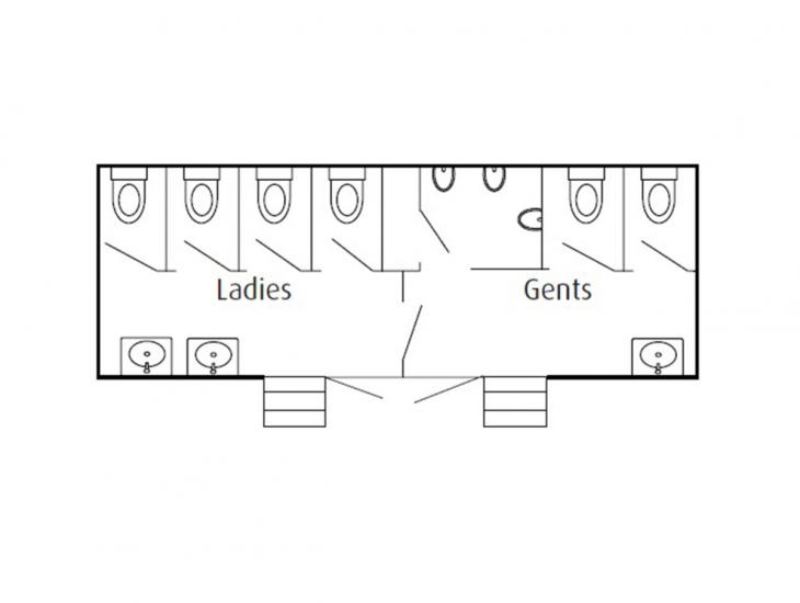 De-Luxe Toilet Trailers from BorderLoos